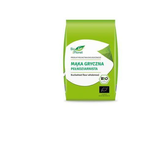Mąka gryczana pełnoziarnista bio 500 g - bio planet marki Bio planet - seria mąki i skrobie