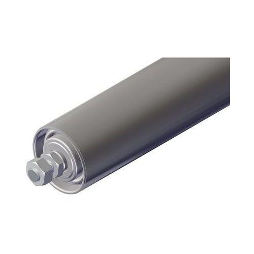 Rolka nośna ze stali, Ø rolki 50 mm, gwintowana oś M 10x20, dł. 400 mm. Do przen