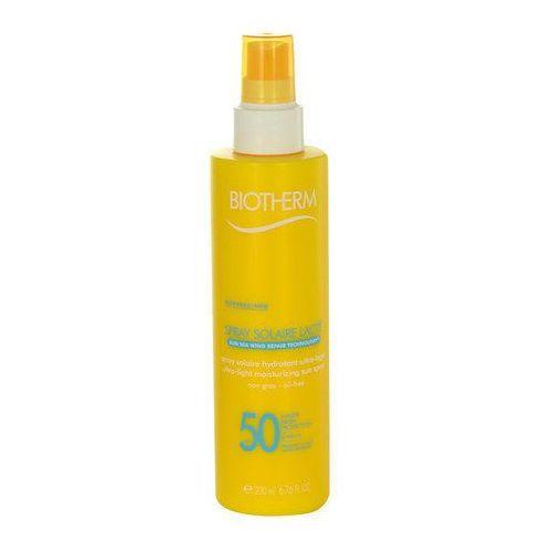 Biotherm Spray Solaire Lacté Ultra-Light Sun Spray SPF50 200ml W Opalanie