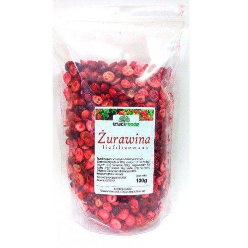 Żurawina 100g liofilizowana True Foods. Najniższe ceny, najlepsze promocje w sklepach, opinie.