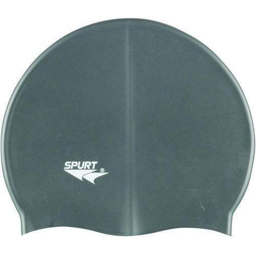 Spurt Czepek silikonowy g107 jednokolorowy szary (5907695550412)