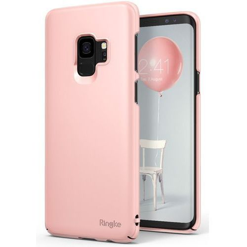 Etui Ringke Slim ultracienkie Samsung Galaxy S9 G960 różowe, 39092