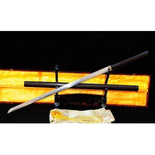 Miecz samurajski shirasaya honsanmai stal wysokowęglowa 1095 i warstwowana, r710 marki Kuźnia mieczy samurajskich