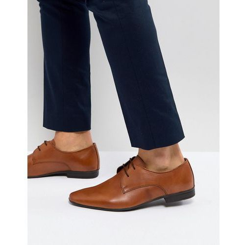 leather derby shoes in tan - tan, Pier one