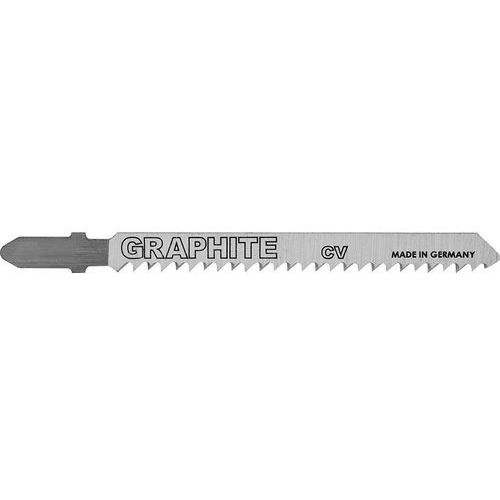Brzeszczoty do wyrzynarki GRAPHITE 57H769 10TPI typu T (2 sztuki)