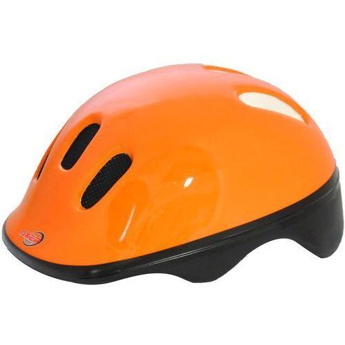 Kask rowerowy dziecięcy AXER SPORT A1396 Happy Reflex Pomarańczowy (rozmiar S)