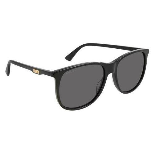 Okulary Słoneczne Gucci GG 0263S 001, kolor żółty