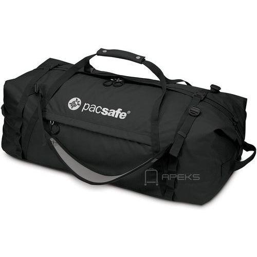 Pacsafe Duffelsafe AT100 torba podróżna na ramię 76 cm / plecak / czarna