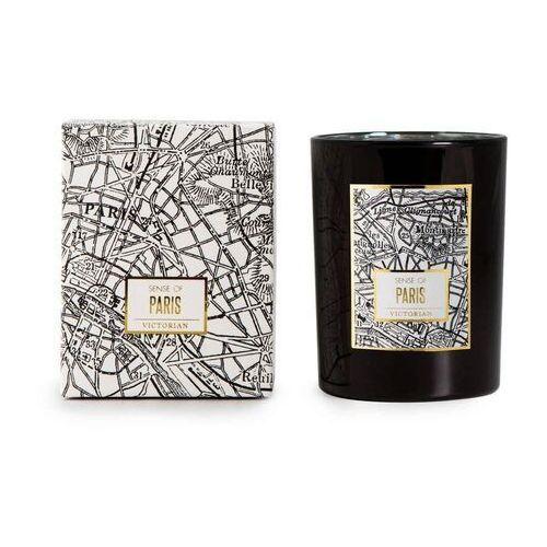 - maps - świeca zapachowa - paris: rośliny liściaste i kwiaty marki Victorian
