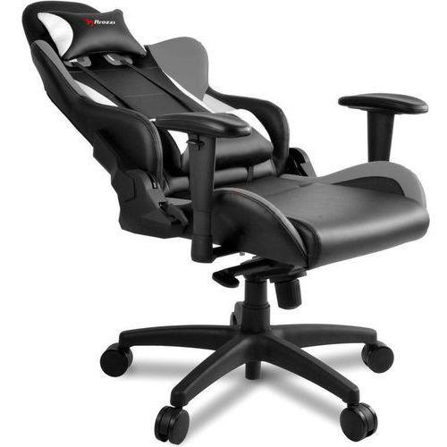 Fotel verona pro v2 czarno-szaro-biały (verona-pro-v2-gy) marki Arozzi