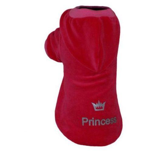 Grande finale  bluza b53 princess crown czerwona nowość
