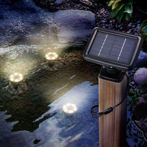 Solarny podwodny reflektor led splash 3 szt. marki Esotec