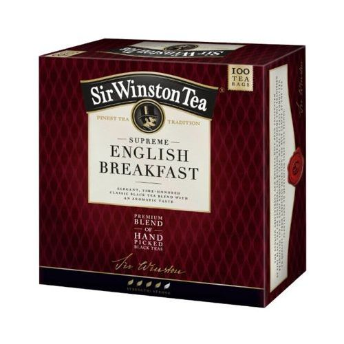 Teekanne 100x1,8g sir winston supreme english breakfast aromatyzowana herbata czarna