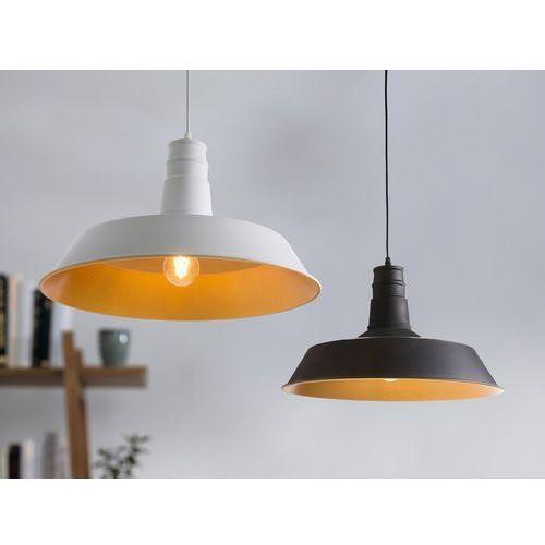 Lampa biała - sufitowa - żyrandol - wisząca - żarówka gratis - BAYOU