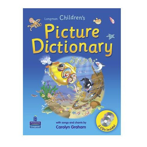 Longman Children's Picture Dictionary Plus Cd-Rom [Słownik Plus Cd-Rom], Longman Pearson Education