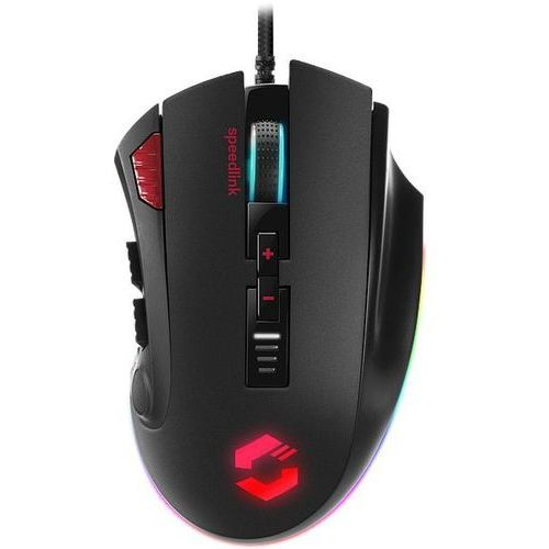 Mysz Speed Link Tarios RGB (SL-680012-BK) Czarna