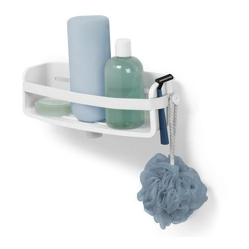 Półeczka pod prysznic Umbra Flex Gel-Lock white, 1004001-660