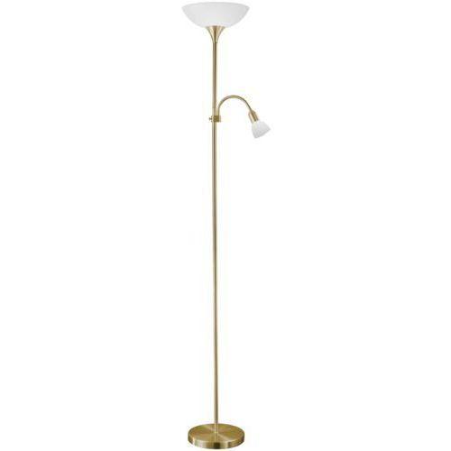 OKAZJA - Eglo 82844 - lampa podłogowa up 2 1xe27/100w brąz (9002759828448)