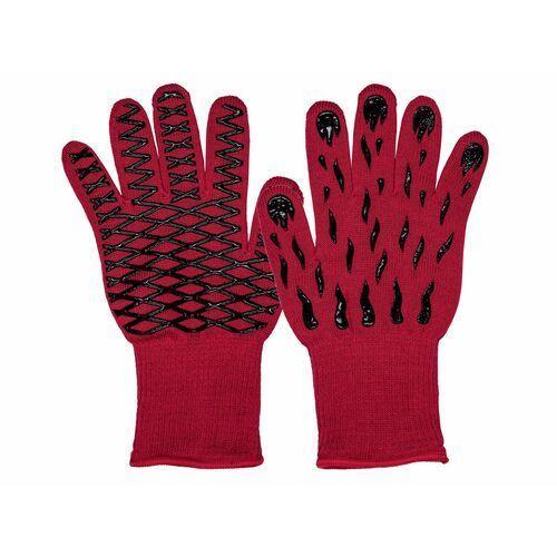 MERADISO® Rękawica do grilla i piekarnika, 1 sztuka (Czerwony) (4056233281668)