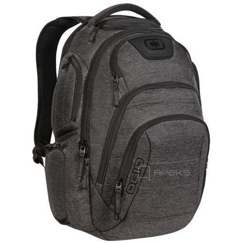 Ogio renegade rss plecak miejski na laptopa 17'' / dark static - dark static