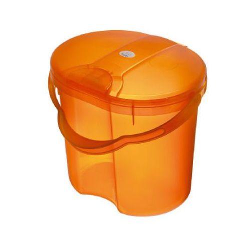 ROTHO Wiaderko na zużyte pieluszki TOP Translucent Orange (4250226034686)