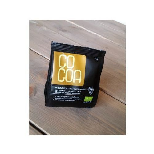 Cocoa Rodzynki w surowej czekoladzie bio 70g - (5902768064537)