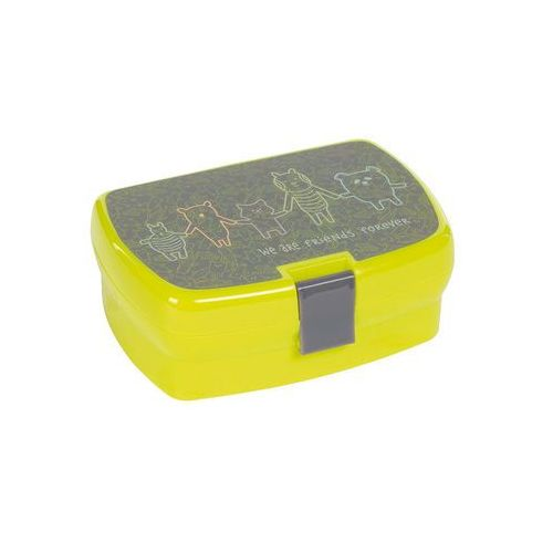 - lunchbox about friends szary marki Lassig
