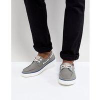boat shoes in grey - grey, Original penguin