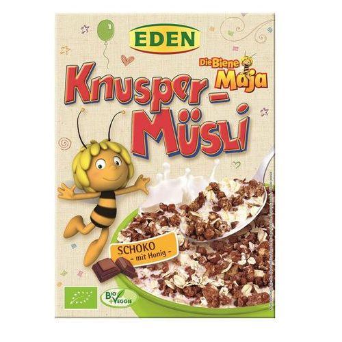 Musli czekoladowe Pszczółka Maja BIO 6x375g - Martin Evers Naturkost, kup u jednego z partnerów