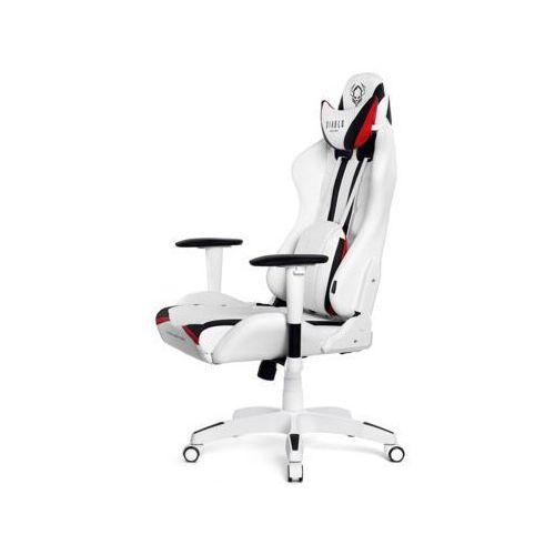 Diablo chairs Fotel diablo x-ray xl biało-czarny