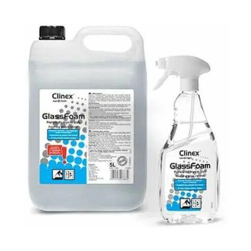 Clinex Glass foam 650ml - pianka do mycia szyb