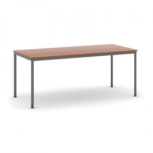 Stół do jadalni 1800 x 800 mm, blat czereśnia, nogi ciemnoszare marki B2b partner