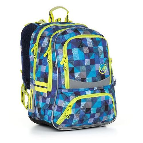 Plecak szkolny chi 870 d - blue marki Topgal