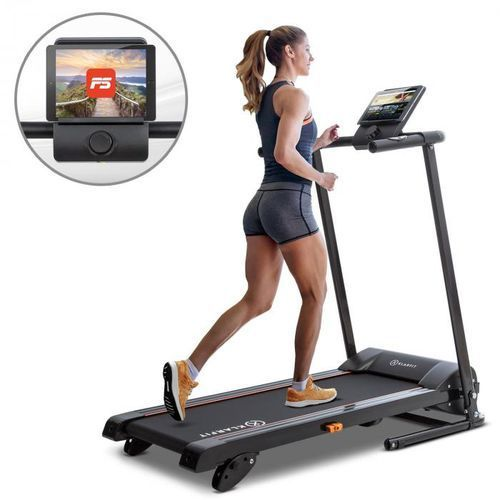 Klarfit treado advanced 2.0 bieżnia treningowa 1 km samosmarująca bluetooth (4060656110801)