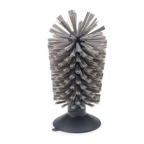 - brush-up szczoteczka z przyssawką szara wymiary: 8 x 16 cm marki Joseph joseph