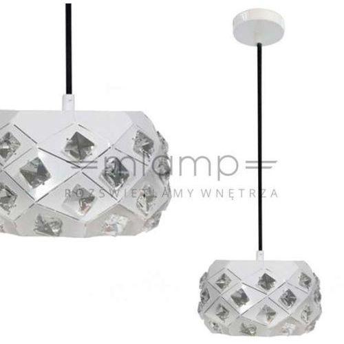 Lampa wisząca CANDELLUX 31-57648 Delphi Biały + DARMOWY TRANSPORT!, kolor Biały