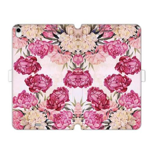 Apple iPad Pro 11 - etui na tablet Wallet Book Fantastic - piwonie