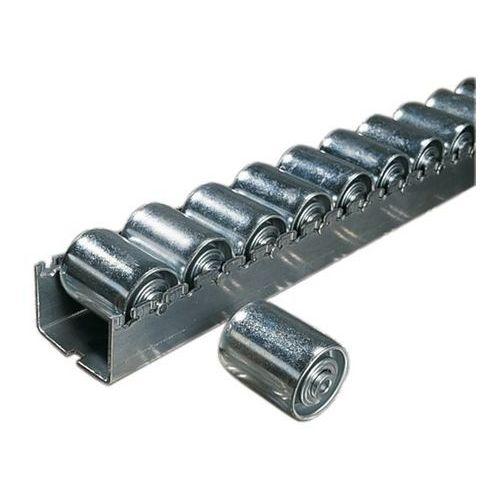 Ciężka listwa toczna ze stalowymi rolkami cylindrycznymi o Ø 45 mm, podział role marki Bito-lagertechnik