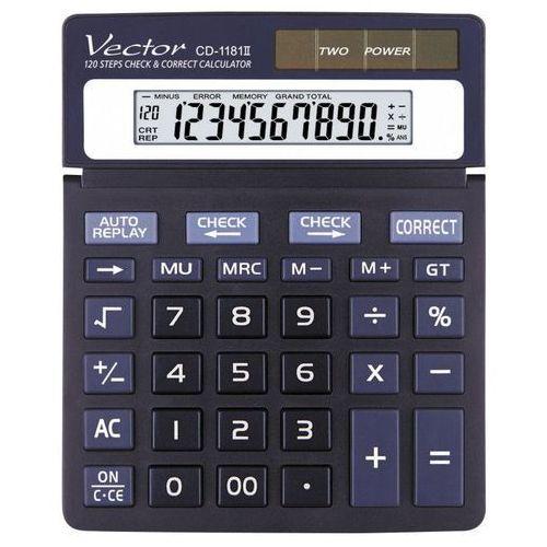 Vector Kalkulator cd-1181. Najniższe ceny, najlepsze promocje w sklepach, opinie.