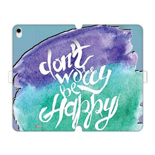Apple ipad pro 11 - etui na tablet wallet book fantastic - don't worry be happy marki Etuo wallet book fantastic