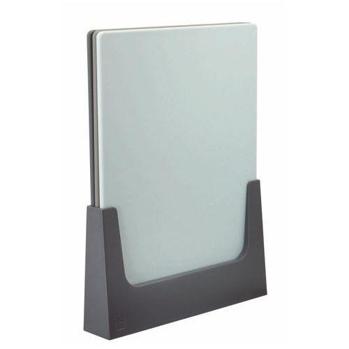 Zestaw desek do krojenia na podstawie chop-it niebieski marki Rig-tig