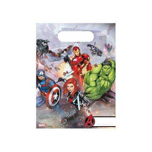 Prezentowe torebki urodzinowe Mighty Avengers - 6 szt. (5201184879696)