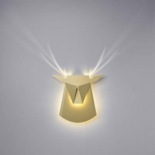 Popup lighting Dear head-kinkiet led jeleń z wtyczką dł.39cm (3663710135195)