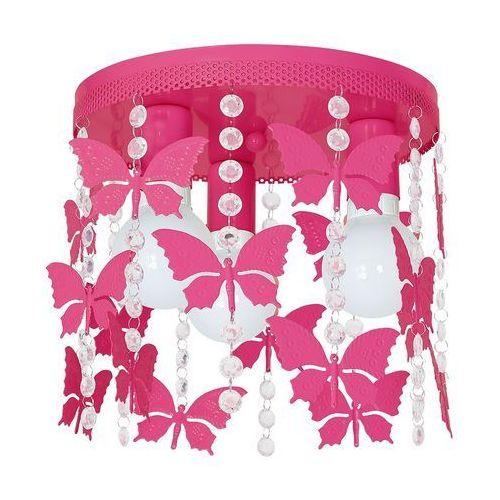 Lampa dziecięca ELZA butterflies 3xE27/60W/230V, MLP 1166