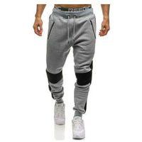 Spodnie męskie dresowe joggery szare denley 1937 marki T&c star