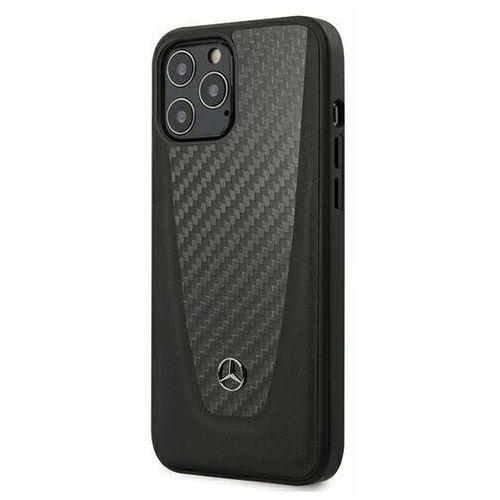 "Mercedes MEHCP12LACABK iPhone 12 Pro Max 6,7"" czarny/black hardcase Carbon Dynamic Line (3700740484272)"