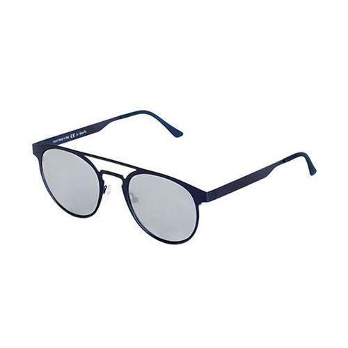 Okulary Słoneczne Spektre Doppio Ponte Metal DM03B/Blue Navy (Silver Mirror), kolor niebieski