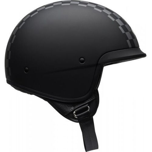 BELL KASK OTWARTY SCOUT AIR CHECK MATTE BLACK/WHIT