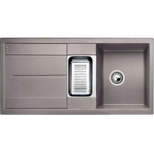BLANCO METRA 6S Silgranit alumetalik PuraDur II bez akcesoriów - DOSTAWA GRATIS, kolor srebrny