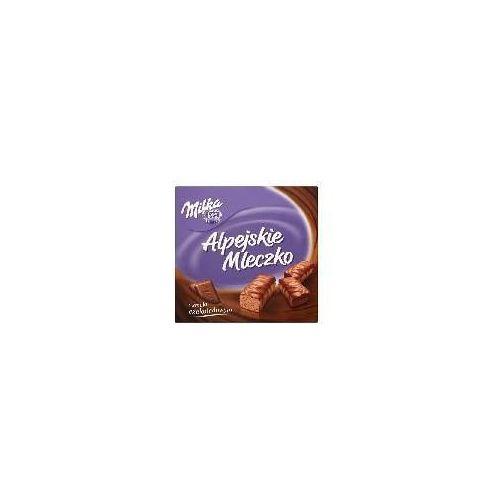 Alpejskie mleczko pianka o smaku czekoladowym milka 330 g marki Kraft